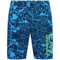Vêtements Homme Shorts / Bermudas Ea7 Emporio Armani Short EA7 Emporio Bleu