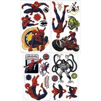 Maison & Déco Enfant Stickers Spiderman Stickers Rouge