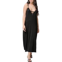 Vêtements Femme Robes longues Luna Robe longue estivale Star noir  Splendida Noir