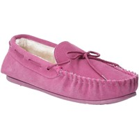 Chaussures Femme Chaussons Hush puppies  Rose