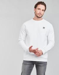 Vêtements Homme Sweats adidas Originals ESSENTIAL CREW Blanc