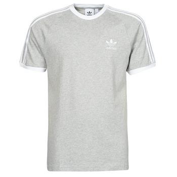 Vêtements Homme T-shirts manches courtes adidas Originals 3-STRIPES TEE Bruyere gris moyen