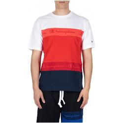 Vêtements Homme T-shirts & Polos Champion CREWNECK T-SHIRT rs011-crd-nvb-wht