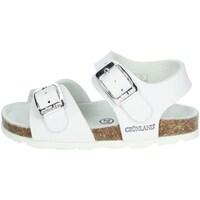 Chaussures Fille Sandales et Nu-pieds Grunland SB0027-40 Blanc