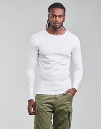 Vêtements Homme T-shirts manches longues G-Star Raw BASE R T LS 1-PACK Blanc