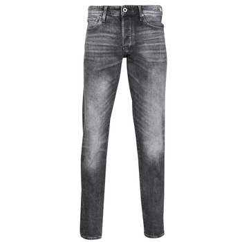 Vêtements Homme Jeans droit G-Star Raw 3301 STRAIGHT TAPERED Gris
