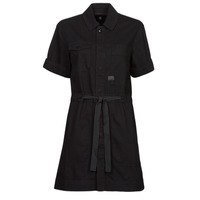 Vêtements Femme Robes courtes G-Star Raw ARMY DRESS SHORT SLEEVE Noir
