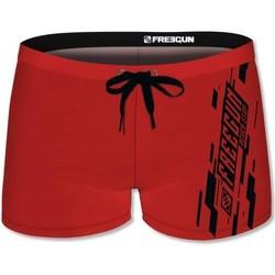 Vêtements Homme Maillots / Shorts de bain Freegun Boxer Bain Moulant Homme MOUASS3 Rouge Rouge