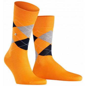 Accessoires Homme Chaussettes Burlington Chaussettes Manchester en fil d'écosse Orange