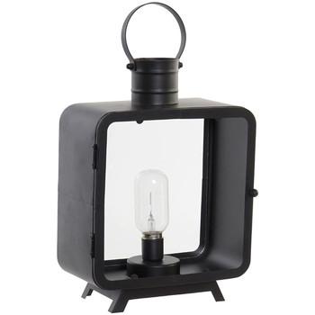 Maison & Déco Lampes à poser Retro Lanterne décorative lumineuse transportable LED 38 cm Noir