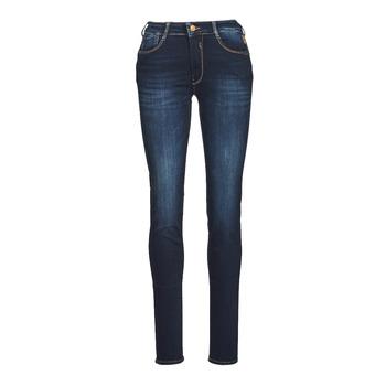 Vêtements Femme Jeans slim Le Temps des Cerises PULP HIGH NAPLES Bleu / Noir