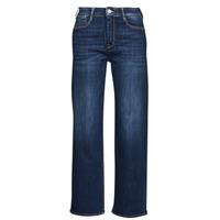 Vêtements Femme Jeans droit Le Temps des Cerises PULP HIGH WAIST Bleu