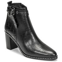 Chaussures Femme Bottes ville Philippe Morvan BERRYS Noir
