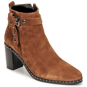 Chaussures Femme Bottes ville Philippe Morvan BERRYS Marron