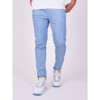 Vêtements Homme Chinos / Carrots Project X Paris Pantalon Bleu Ciel
