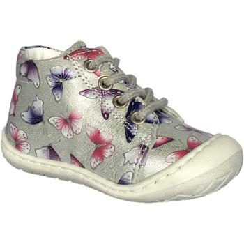 Chaussures Fille Boots Bellamy Bela argent