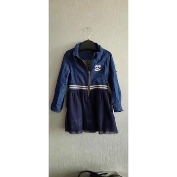 Vêtements Fille Robes courtes Ikks Robe ikks 3 ans Bleu