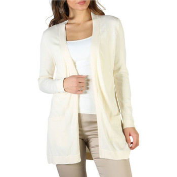 Vêtements Femme Gilets / Cardigans Fontana - P1991 Blanc