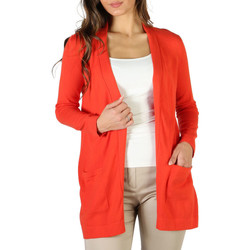 Vêtements Femme Gilets / Cardigans Fontana - P1991 Orange
