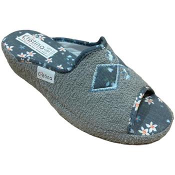 Chaussures Femme Chaussons Cristina CRI0621gri grigio