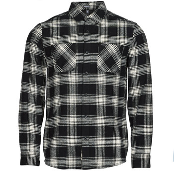 Vêtements Homme Chemises manches longues Volcom TONE STONE L/S Noir