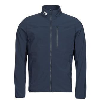 Vêtements Homme Blousons Helly Hansen CREW SOFTSHELL JACKET 2.1 Marine