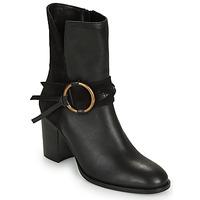 Chaussures Femme Bottines Kaporal PERCY Noir