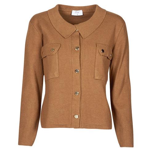 Vêtements Femme Pulls Betty London PEPINA Camel