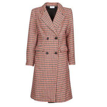 Vêtements Femme Manteaux Betty London PIVENE Noir / Rouge