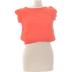Vêtements Femme Tops / Blouses Forever 21 Top Manches Courtes  36 - T1 - S Rouge