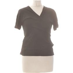 Vêtements Femme Gilets / Cardigans Dorotennis Gilet Femme  38 - T2 - M Noir
