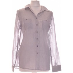 Vêtements Femme Chemises / Chemisiers Manoukian Chemise  36 - T1 - S Gris