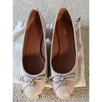 Chaussures Femme Ballerines / babies Heyraud Ballerines à talon Heyraud Beige