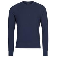 Vêtements Homme T-shirts manches longues Versace Jeans Couture LS CREW SLEEP TOP Marine