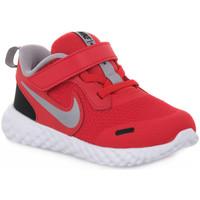 Chaussures Garçon Baskets basses Nike 003 REVOLUTION 5 TDV Rosso