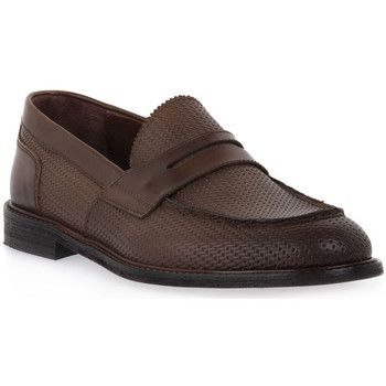 Chaussures Homme Mocassins Marco Ferretti STRAW NOCE Marrone