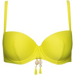 Vêtements Femme Maillots de bain séparables Lisca Haut maillot de bain préformé Ibiza Jaune