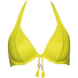 Vêtements Femme Maillots de bain séparables Lisca Haut maillot de bain armaturé dos nu Ibiza Jaune