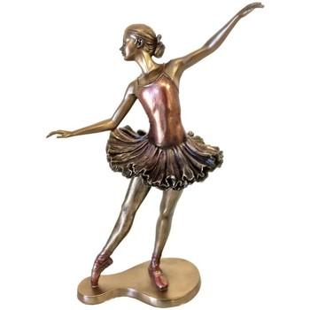 Maison & Déco Statuettes et figurines Danseuse - Ballerine Statuette Danseuse de collection 26 cm Doré
