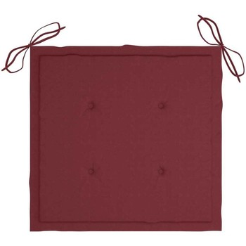 Maison & Déco Coussins Vidaxl Coussin de chaise de jardin Rouge