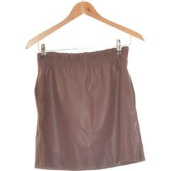 Vêtements Femme Jupes Zara Jupe Courte  36 - T1 - S Violet