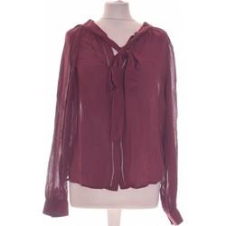 Vêtements Femme Tops / Blouses Mango Top Manches Longues  34 - T0 - Xs Violet