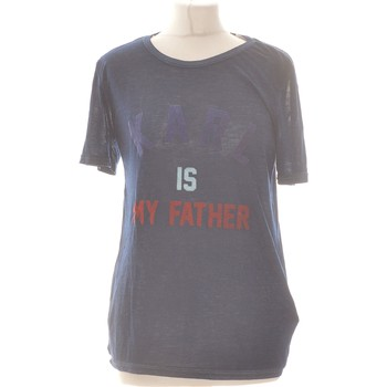 Vêtements Femme Tops / Blouses Eleven Paris Top Manches Courtes  34 - T0 - Xs Bleu