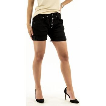 Vêtements Femme Shorts / Bermudas Please p88a cv9n3n 1900 nero noir