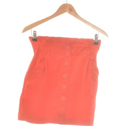 Vêtements Femme Jupes Zara Jupe Courte  38 - T2 - M Rouge
