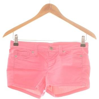Vêtements Femme Shorts / Bermudas Benetton Short  36 - T1 - S Rose