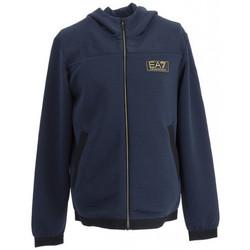 Vêtements Homme Sweats Ea7 Emporio Armani Sweat à capuche Bleu