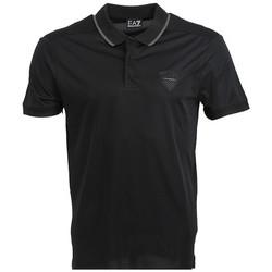 Vêtements Homme Polos manches courtes Ea7 Emporio Armani Polo EA7 Emporio Noir