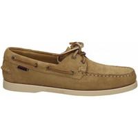 Chaussures Homme Mocassins Sebago PORTLAND FLESH OUT 906-beige-camel