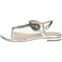 Chaussures Femme Sandales et Nu-pieds Menbur 22345 Argent
